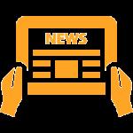 newsletter symbol alphaorange